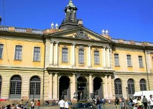 ساختمان آکادمی سوئد در استکهلم