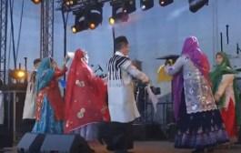 دستمال بازی بختیاری در چارشنبه سوری سوئد