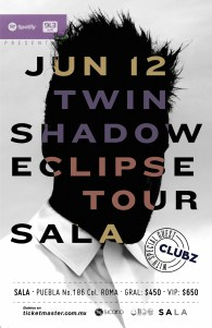 Twin Shadow en SALA - La Cartelera