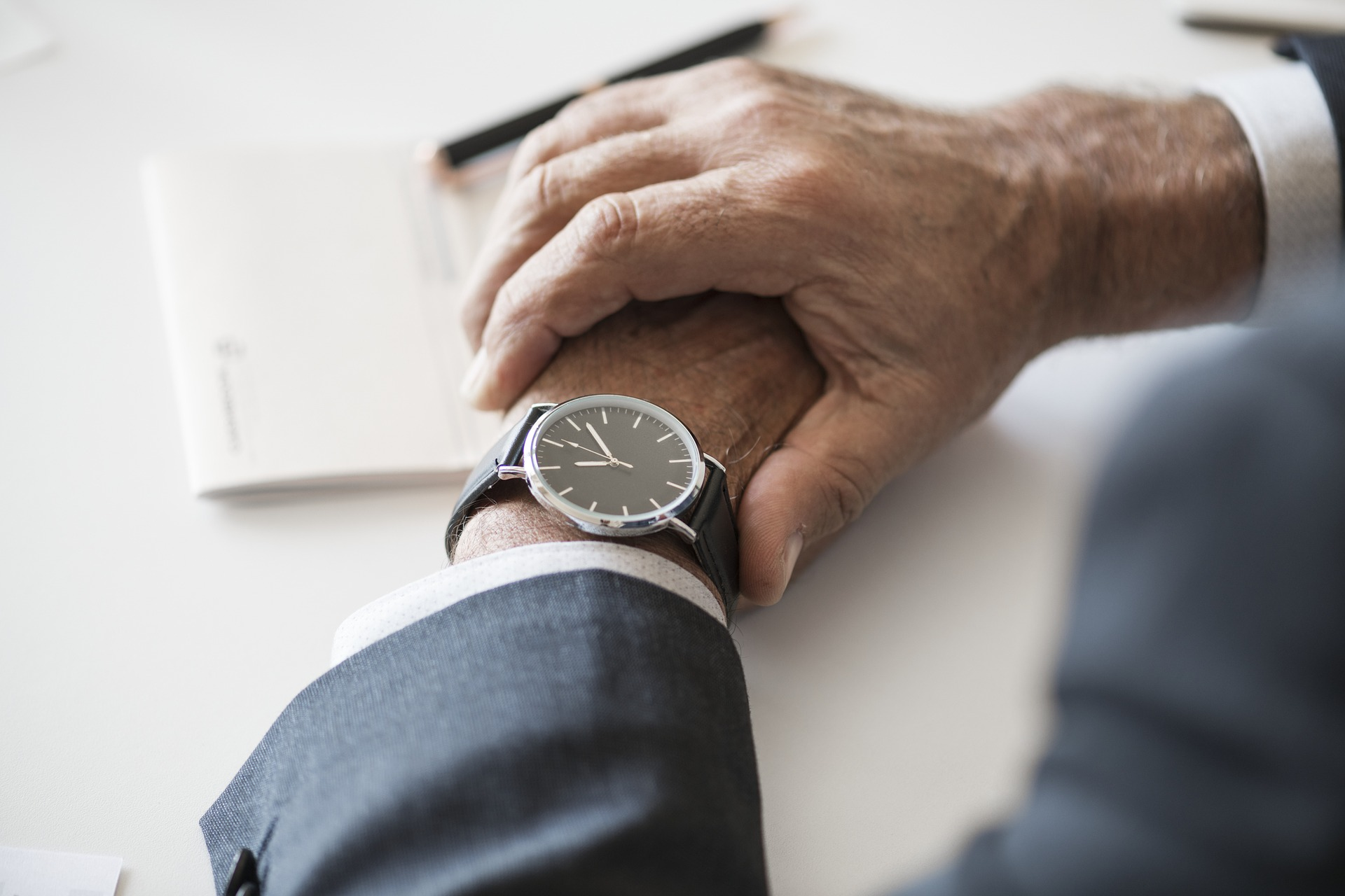 man-checking-watch