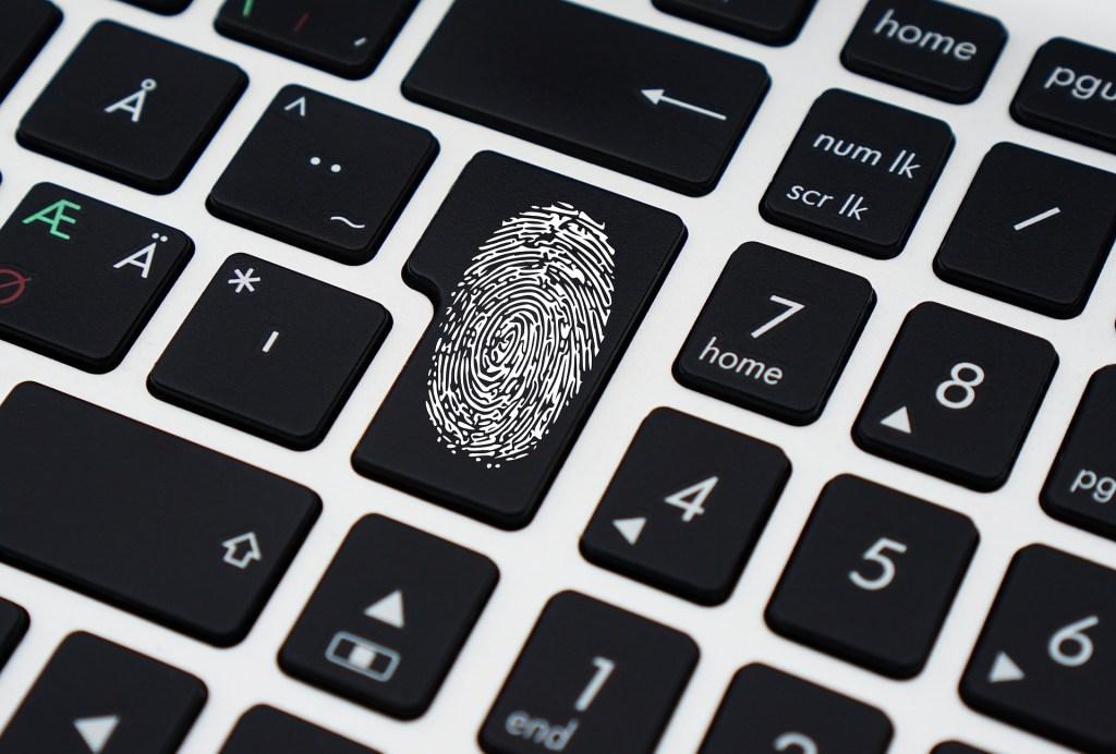 thumbprint-on-keyboard