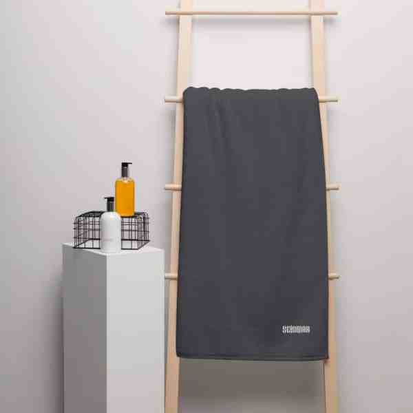turkish cotton towel graphite 100 x 210 cm 5fc9158b4e13f