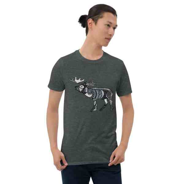 unisex basic softstyle t shirt dark heather 5fc7ca36f0442