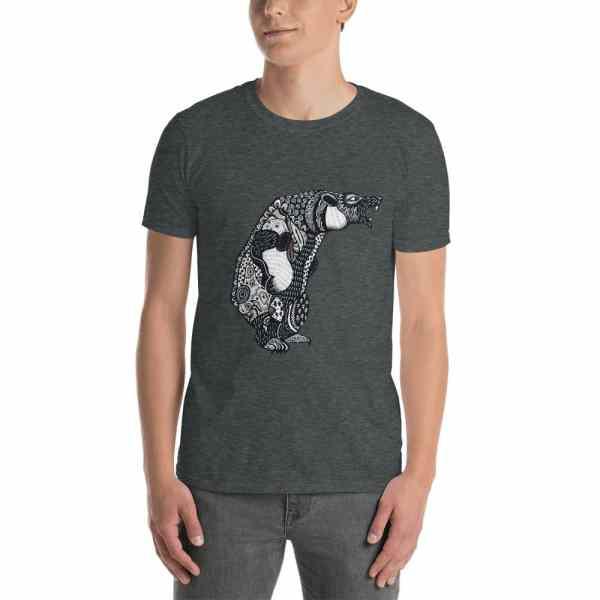 unisex basic softstyle t shirt dark heather 5fc7cb1ec0239