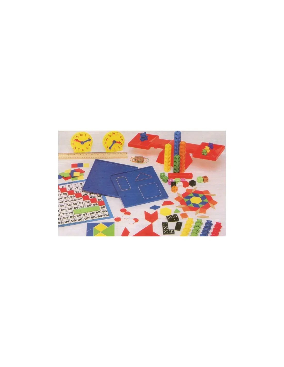 Saxon Math Manipulative Kit Grades K 3