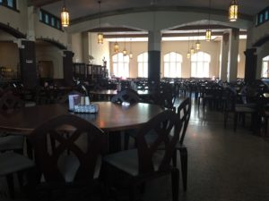 Possible renovations to Lowe Dining Hall in the near future. Photo courtesy of C.Arida/Setonian