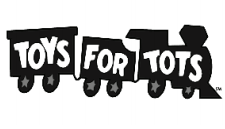 Toys For Tots logo. Keep an eye out for this when doing your holiday shopping. Photo courtesy by netra.org