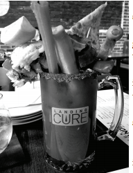 """The Landing Cure Caesar"" from Hunter's Landing, a restaurant located in downtown Toronto. Photo courtesy by C.Cunningham/Setonian"
