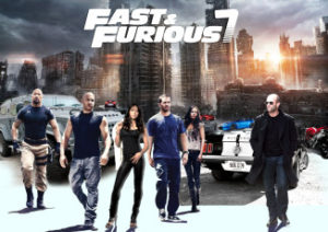 Main cast of Furious 7, In memory of Paul Walker.