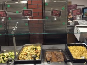 The dining hall staff put together Harry Potter themed meals. Photo courtesy by Callista Arida