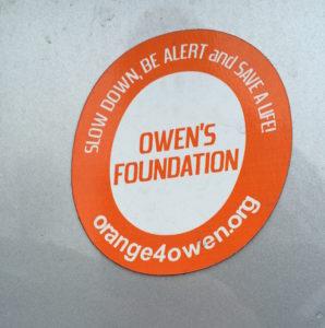 Owen's Foundation logo. Photo courtesy of A.Long