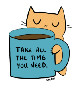 Practicing self-care is important. Photo from positivedoodles.tumblr.com.