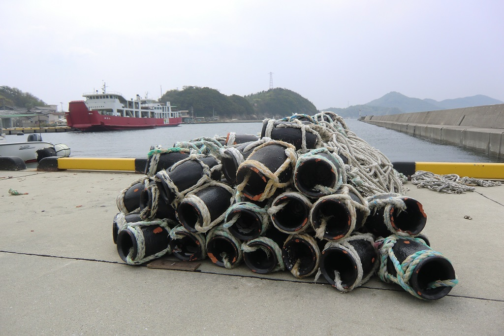 Octopus Traps on Ogijima