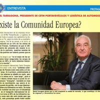 """Daniel Tarragona: """"Necesitamos urgentemente una armonización europea en los pesos y dimensiones de los portavehículos"""""""