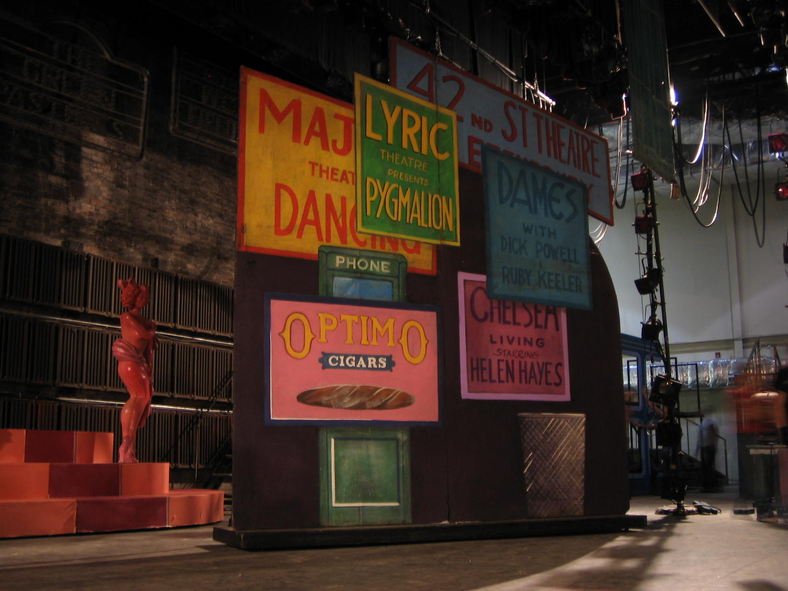 Gateway Playhouse Set Rentals 42nd Street