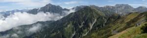立山~剱岳
