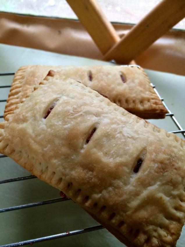 Strawberry Jam Toaster Pastry