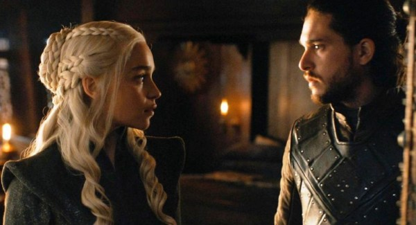 Game of Thrones 7.7 Dany and Jon