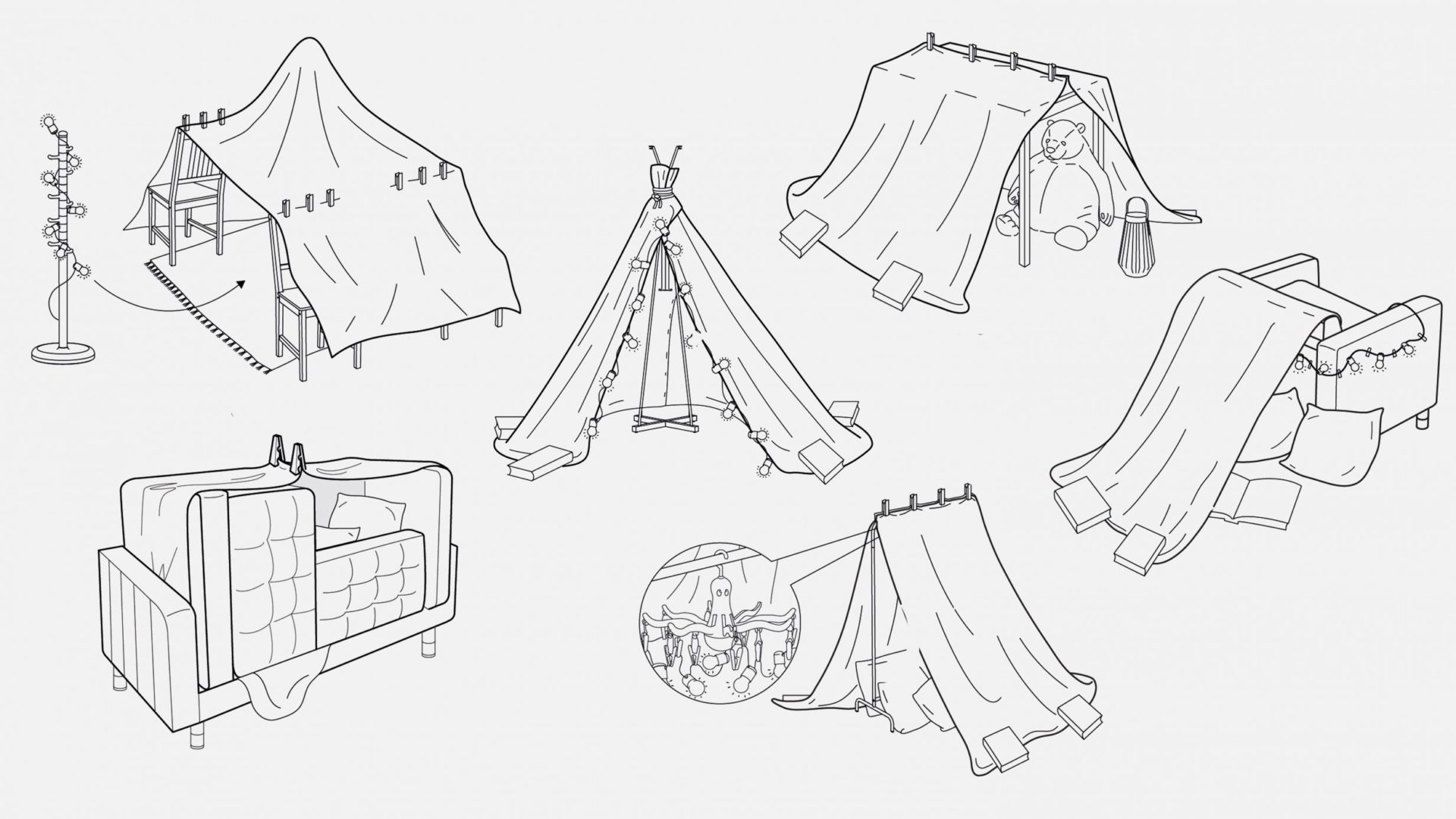 build pillow forts