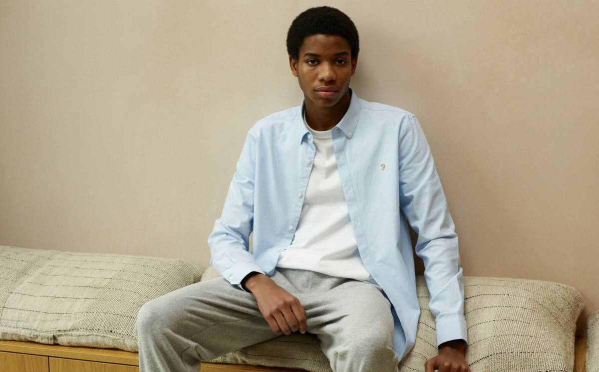 Farah's Spring/Summer 2021 Collection Is Made of Organic Cotton