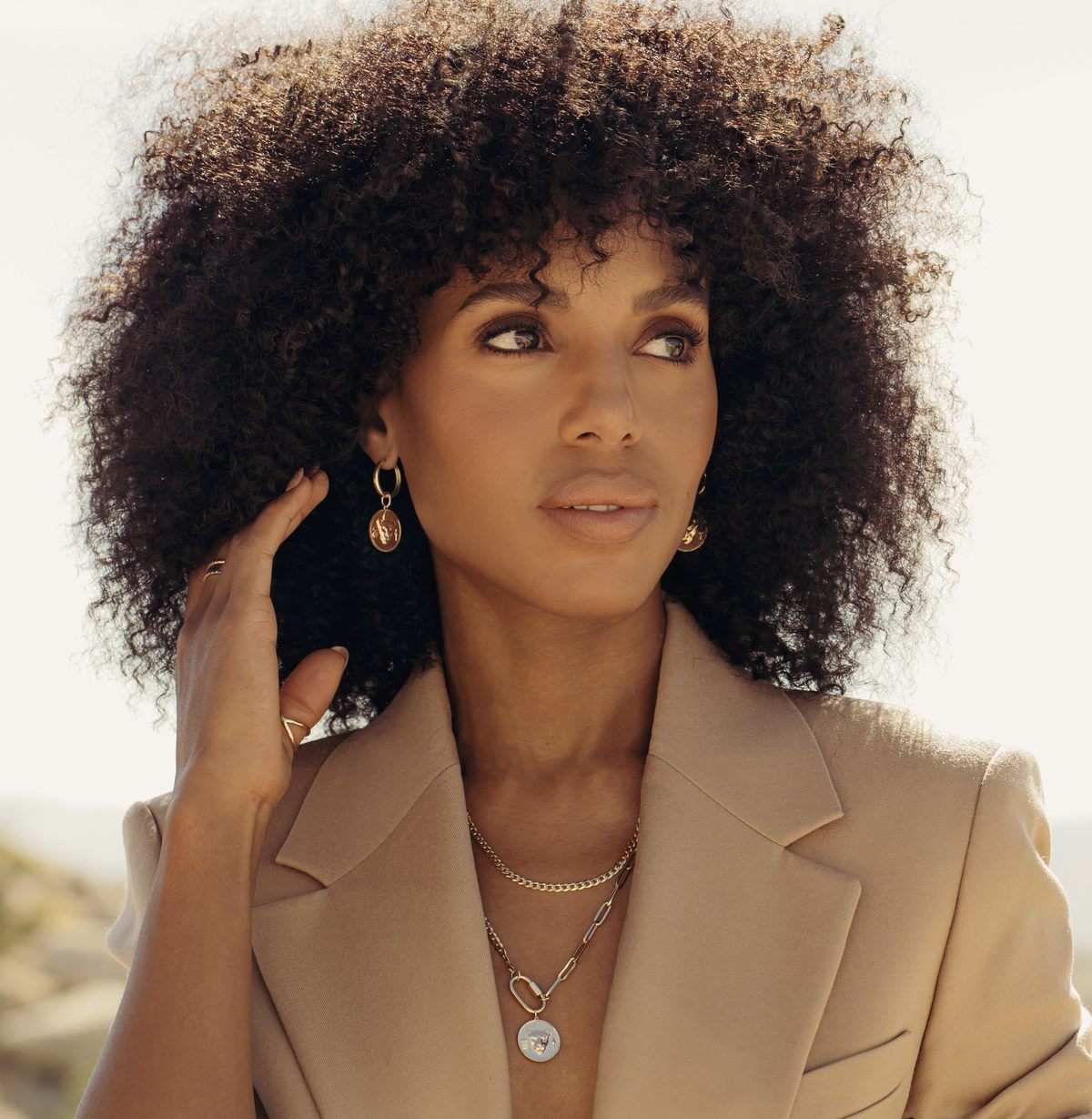 Kerry Washington & Sustainable Jewellery Brand Aurate Release Lioness Collection to Embrace Female Power