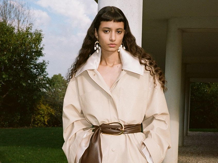 Nanushka's Pre-Fall 2021 Collection Showcases Eco-Friendly Knitwear and Regenerated Leather