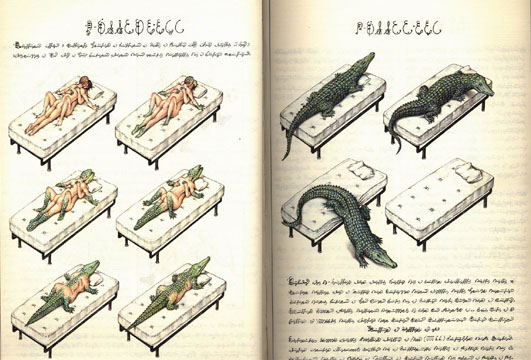 page from codex seraphinianus