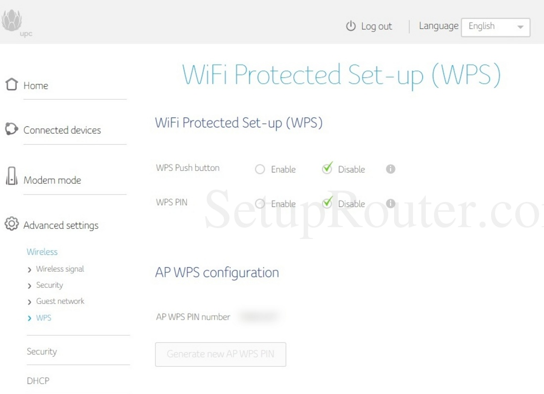 Compal Ch Lg Lc Screenshot Wirelesswps