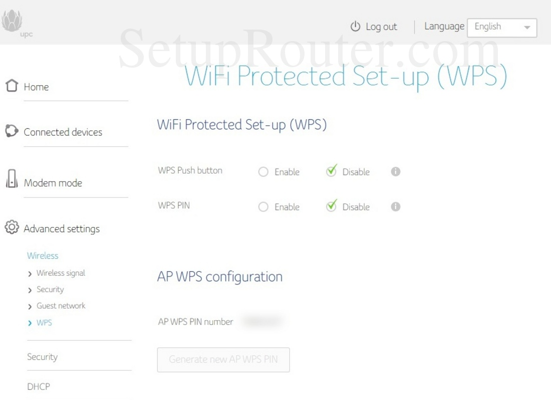 Upc Connect Box Screenshot Wirelesswps
