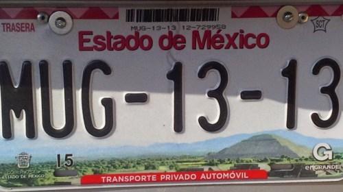 Cómo sacar tus placas del Estado de México en 30 minutos