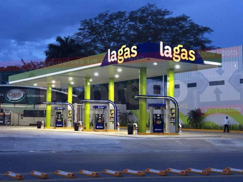La-gas