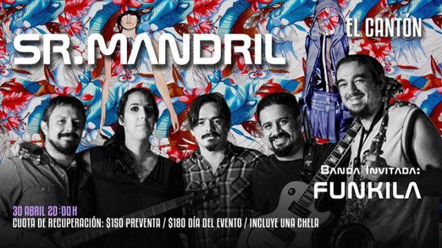 Sr. Mandril y Funkila llegarán a Metepec