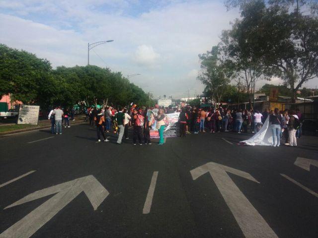 Al menos 5 manifestaciones de la CNTE en la CDMX