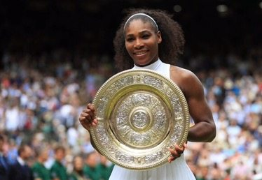 Serena Williams ganó Wimbledon y es récord