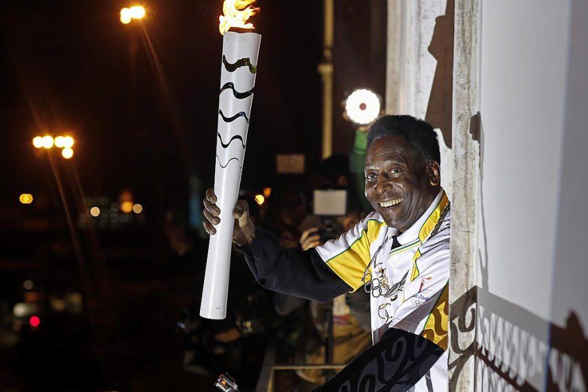 Pelé no asistirá a la inauguración de los JJOO