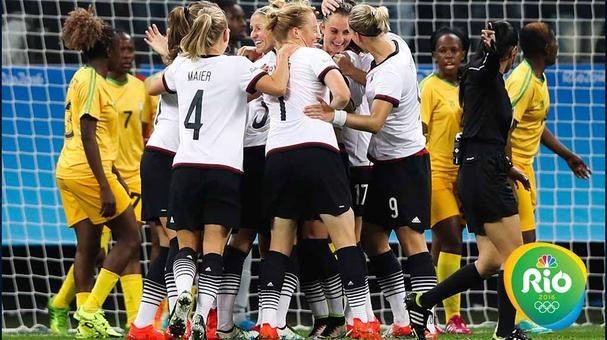 Río 2016: Alemania propina a Zimbabue la primera goleada en Juegos Olímpicos