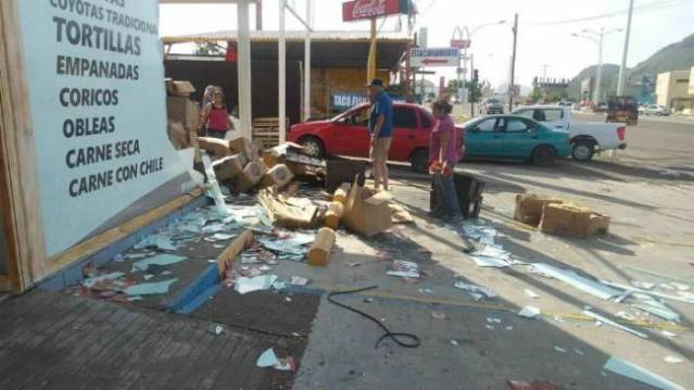 Declaran emergencia en 13 municipios de Sonora, por 'Newton'