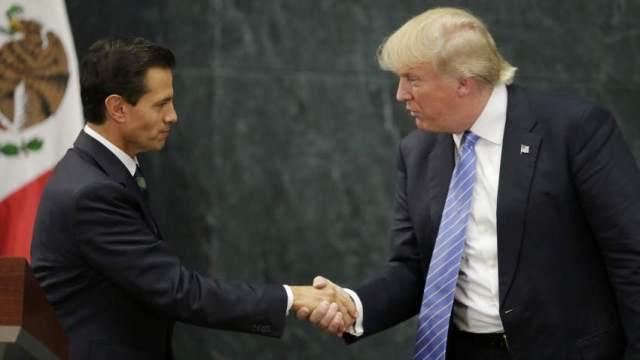82.2% de los mexicanos se siente 'enojado' con Peña Nieto  por invitación  a Trump: Mitofsky