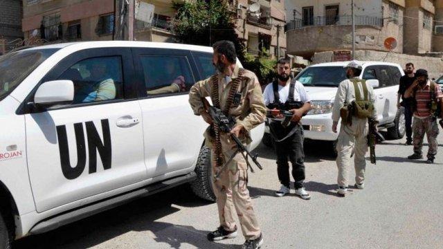 Suspende todas las operaciones humanitarias de la ONU en Siria