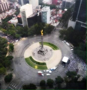 Sin incidentes terminan marchas en la Ciudad de México