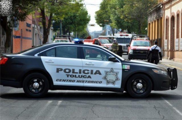 Asegura Policía de Toluca a 5 hombres por los delitos de robo, fraude y despojo
