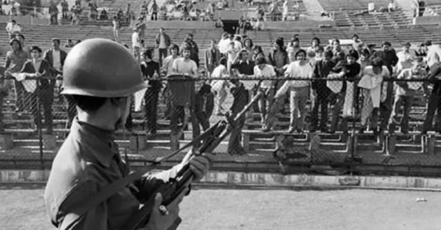Revelan sucesos ocurridos en el Estadio Nacional de Chile en 1973