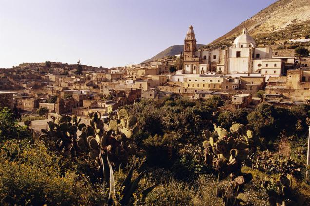 Uno de los grandes centros mineros de San Luis Potosí, fue Real de Minas de Nuestra Señora de la Limpia Concepción de Guadalupe de los Álamos de Catorce, o mejor conocido como Real de Catorce. Foto: contactotv.com.mx