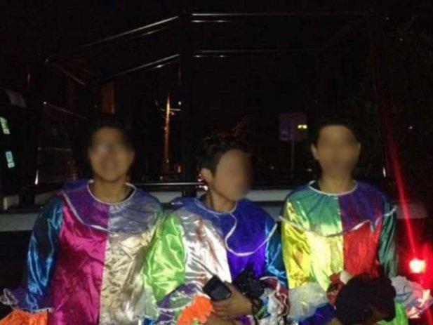 Caen cinco payasos 'terroríficos' que escandalizaban en la calle