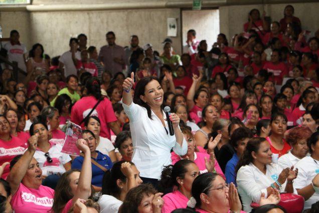 La secretaria general del CEN del Partido Revolucionario Institucional (PRI), Carolina Monroy, participará en la reunión de alto nivel de partidos políticos que se celebrará del 13 al 15 de octubre próximo