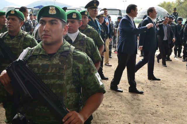 Más de 3 mil elementos federales vigilaran 8 municipios mexiquenses más violentos
