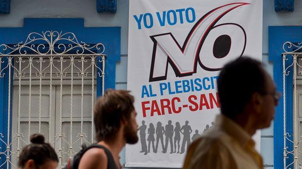 Colombianos dicen NO a los acuerdos de paz con las FARC