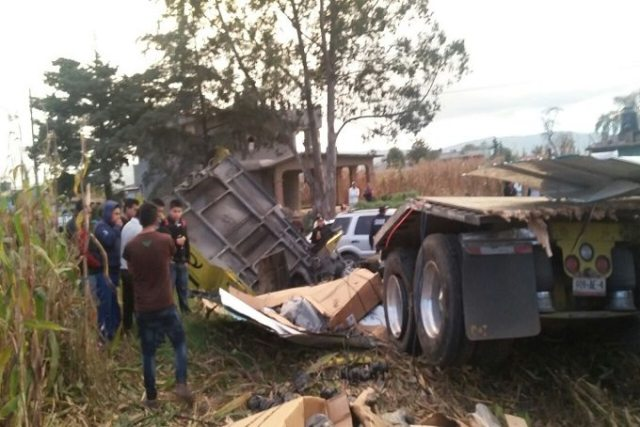 3 heridos tras accidente en la Toluca-Atlacomulco