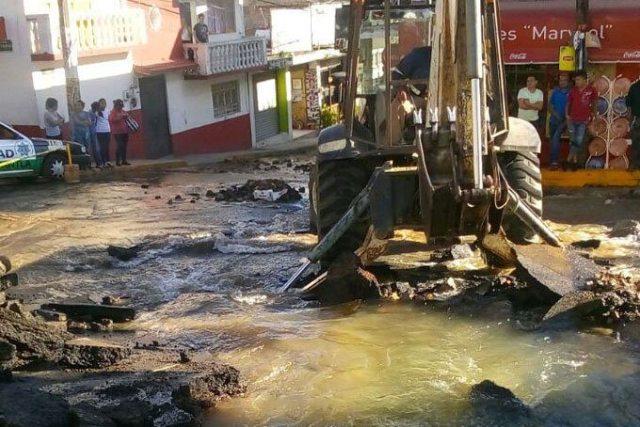 Municipios del Estado de México afectados por fuga en el Cutzamala