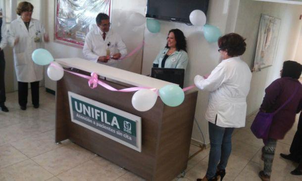 Puesta en marcha de unifila en UMF 226 Ixtlahuaca